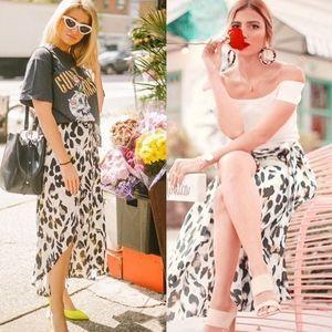 Dresses & Skirts - TRISTYN leopard Print Skirt